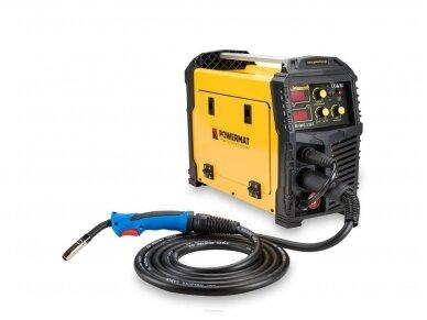 Powermat suvirinimo pusautomatis PM-IMG-230T, 230A, 230V, MIG/MAG/TIG/MMA 2