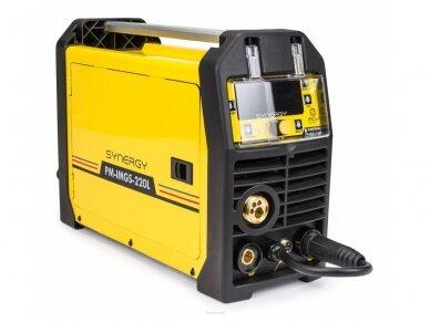 Powermat suvirinimo pusautomatis PM-IMGS-220L SYNERGY, 220A, 230V, MIG/MAG/MMA/LIFT-TIG