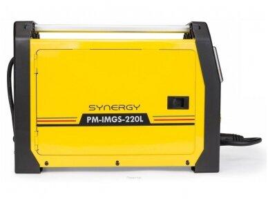 Powermat suvirinimo pusautomatis PM-IMGS-220L SYNERGY, 220A, 230V, MIG/MAG/MMA/LIFT-TIG 2