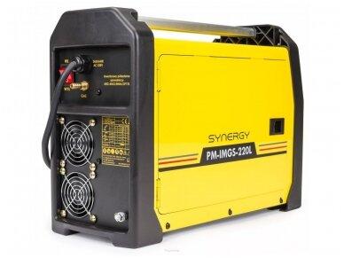 Powermat suvirinimo pusautomatis PM-IMGS-220L SYNERGY, 220A, 230V, MIG/MAG/MMA/LIFT-TIG 5