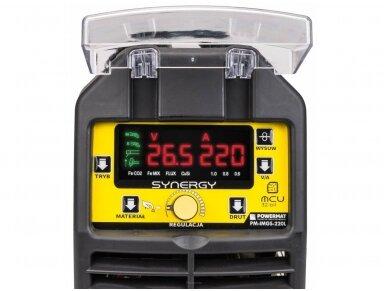 Powermat suvirinimo pusautomatis PM-IMGS-220L SYNERGY, 220A, 230V, MIG/MAG/MMA/LIFT-TIG 7