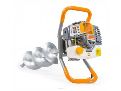 Powermat žemės grąžtas PM-SWG-600N-3W, 6AG, 3 grąžtai komplekte