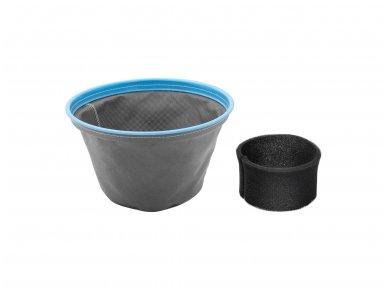 Pramoninis dulkių siurblys FLOORCLEAN 30FS, 30 l, 1400 W, neaustinis filtras 5