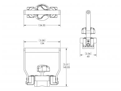 Rankinis magnetinis keltuvas Hand Lifter 60-M 6