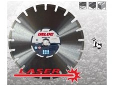 Segmentinis deimantinis pjovimo diskas 350mm DLA Premium Asphalt