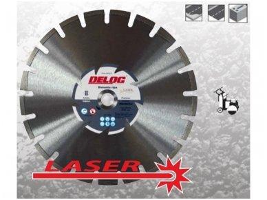 Segmentinis deimantinis pjovimo diskas 400mm DLA Premium Asphalt