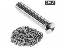 Smeigės - M5 - 25 mm - 250 vnt.