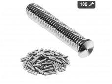 Smeigės - M8 - 40 mm - 100 vnt.