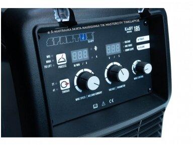 Spartus EasyMIG 185 suvirinimo pusautomatis, 185A, 230V – PILNAS RINKINYS 5