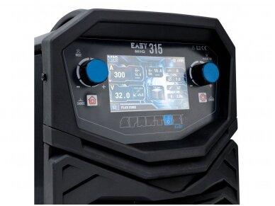 SPARTUS EasyMIG 315 suvirinimo pusautomatis, 300A, 400V 8
