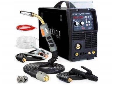 Сварочный аппарат SPARTUS® MasterMIG 250 DUAL Pulse Synergy, 250A, 400V