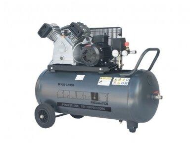 Spartus stūmoklinis kompresorius SP 420-2.2/100, 100l, 400V
