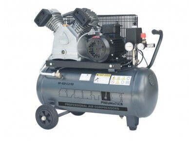 Spartus stūmoklinis kompresorius SP 420-2.2/50, 50l, 230/400V