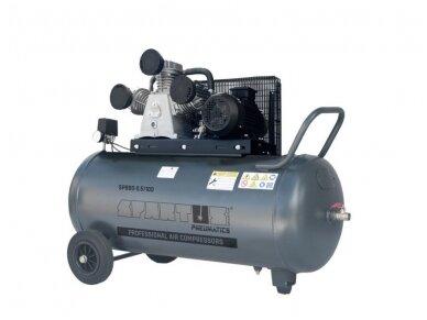 Spartus stūmoklinis kompresorius SP 880-5.5/100, 100l, 400V