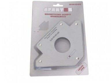 Spartus suvirinimo magnetas, rodyklės tipo, apkrova 33kg 2