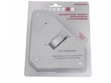 Spartus suvirinimo magnetas su išjungimu, apkrova 25kg 2