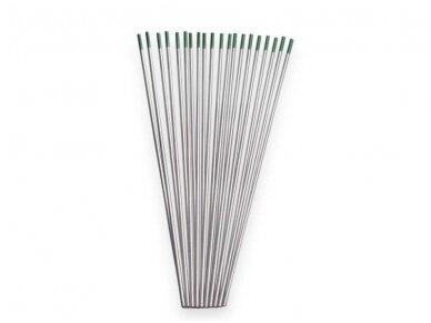 Spartus volframinis elektrodas (WP žalias), 175mm