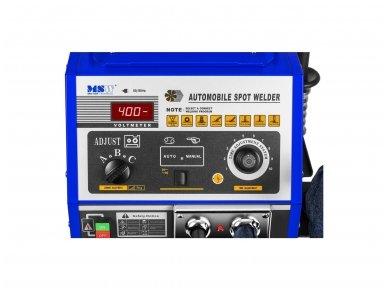 MSW S-SPOTTER 4000A Spoteris su darbo stalu (taškinio-kontaktinio suvirinimo mašina) 4