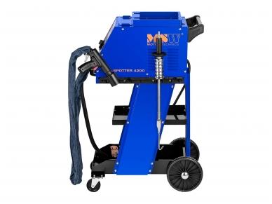 Spoteris su darbo stalu 4200A (taškinio-kontaktinio suvirinimo mašina) 2