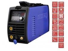 SPARTUS® EasyTIG 210E Pulse AC/DC Suvirinimo aparatas, 200A, 230V