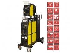 SPARTUS ProMIG 500W Synergy Suvirinimo aparatas, 500A, 400V