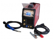 Suvirinimo pusautomatis WTL POWER MIG200LCD, 200A, 230V