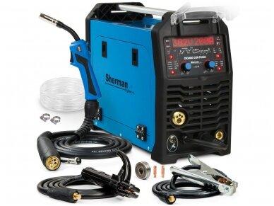 Suvirinimo aparatas su DualPulse technologija Sherman DIGIMIG 200 Pulse, tinka aliumini virinti