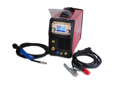 WTL MIG 200 LCD Synergic Suvirinimo aparatas, 200A, 230V 2