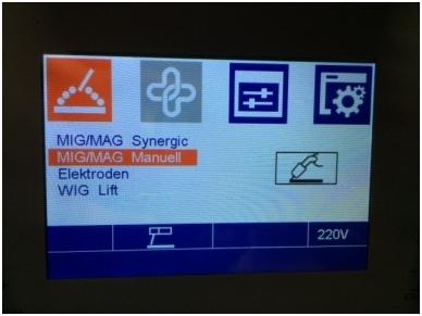 WTL MIG 200 LCD Synergic Suvirinimo aparatas, 200A, 230V 5