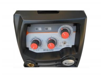Suvirinimo aparatas MIG/MAG/MMA, MIG 200, 200A, 230V 7