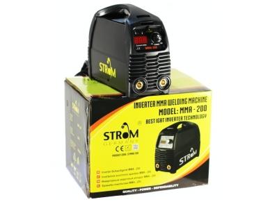 Elektrodinis suvirinimo aparatas STROM MMA-200 IGBT, 200A, 230V 2
