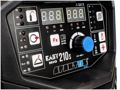 SPARTUS EasyMIG 210S Suvirinimo pusautomatis, 200A, 230V 6