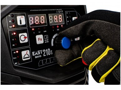 SPARTUS EasyMIG 210S Suvirinimo pusautomatis, 200A, 230V 7