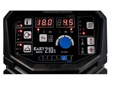 SPARTUS EasyMIG 210S Suvirinimo pusautomatis, 200A, 230V 8