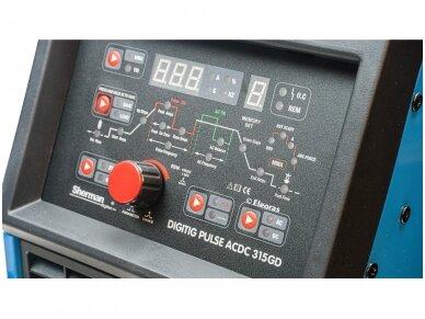 Sherman DIGITIG pulse AC/DC 315GD Suvirinimo aparatas, 315A, 400V 2