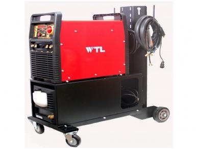TIG Suvirinimo aparatas WTL MAGIC AC TIG 350A, 400V su vežimėliu