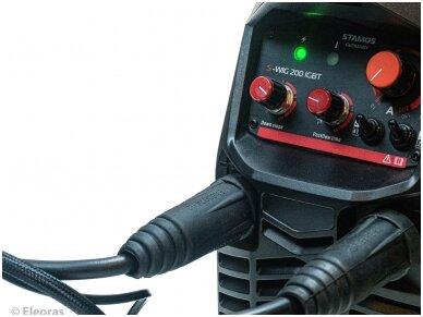 STAMOS GERMANY S-WIG 200 IGBT Suvirinimo aparatas TIG, 200A, 230V 13