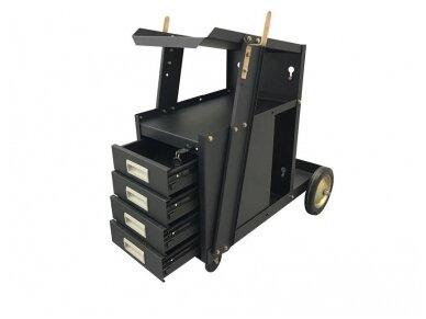 Suvirinimo įrangos vežimėlis su stalčiais Spartus SP-TR-11