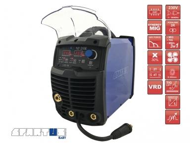 Suvirinimo pusautomatis, EasyMIG 210E, 200A, 230V 2