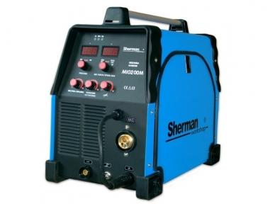 Sherman MIG 200M Suvirinimo pusautomatis, 200A, 230V