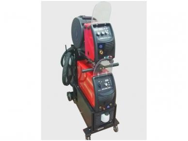 WTL Suvirinimo pusautomatis MULTIMIG 500F Synergic, 500A, 400V, aušinamas vandeniu
