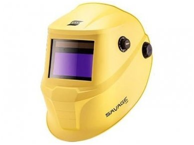 Suvirinimo skydelis Esab SAVAGE A40, geltonos spalvos