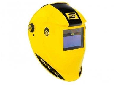 Suvirinimo skydelis, ESAB WARRIOR Tech, geltonas