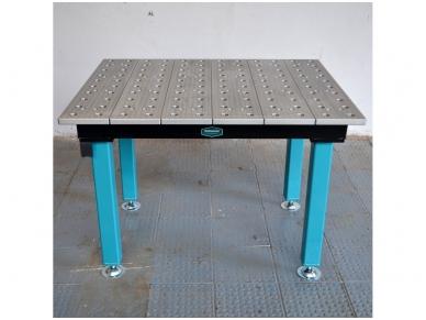 Suvirinimo stalas 1000 x 1200 x 25 mm 2