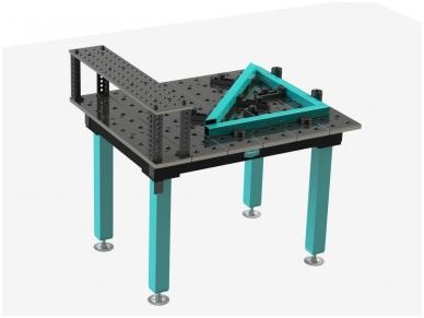 Suvirinimo stalas 1000 x 1200 x 25 mm 3