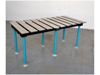 Suvirinimo stalas 1960 x 1000 x 16 mm 2