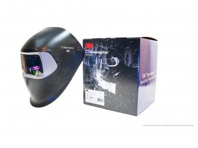 Suvirintojo skydelis 3M Speedglas 100 su 100-V filtru 4