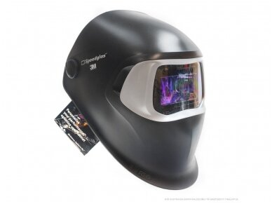 Suvirintojo skydelis 3M Speedglas 100 su 100-V filtru 2