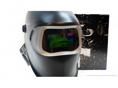 3M Speedglas 100 su 100-V filtru Suvirintojo skydelis 4