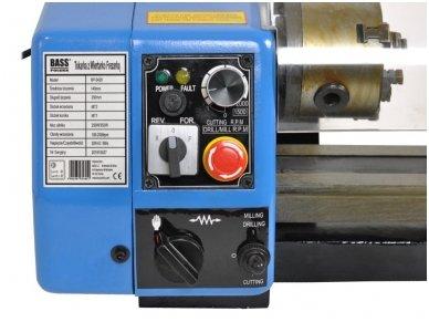 Tekinimo-frezavimo staklės 250W 10